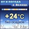 Ну и погода в Вологде - Поминутный прогноз погоды